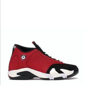 "🥊*NEW* Air Jordan 14 Retro ""Gym Red Toro"" (Sz 11)"